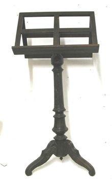 10: 1800's Three Legged Book/Music Stand