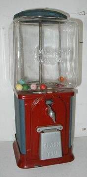 Northwestern , Morris, Ill. Gumball Machine