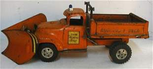 Tonka State Highway Dump Truck with V Plow