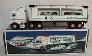 Hess Race Car Transporter, MIB