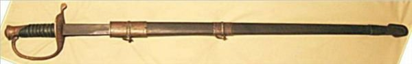 3003: Confederate States Civil War Re-enachment Sword