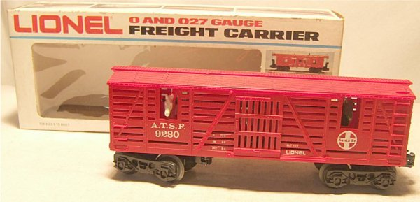 4014: Lionel  #9280 Horse Car with Box, Excellent Condi