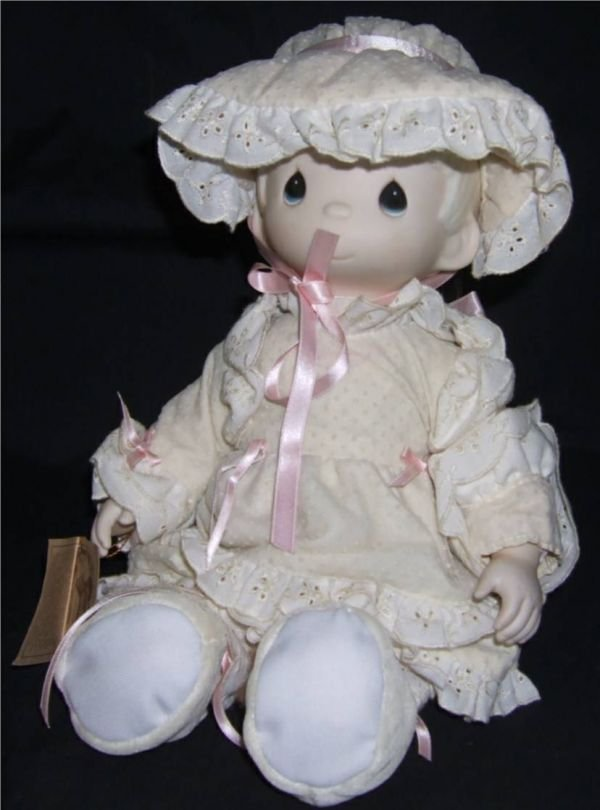 "4017: Precious Moments Doll, Kristy, 1983, 13"" High"