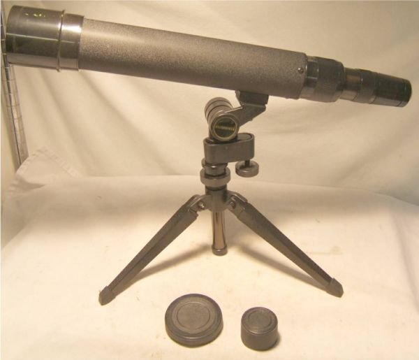 1008: Bushnell 20-60x60 Optics Shooting Scope with Tri