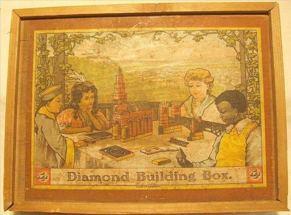 4001: Diamond Building Box with Kellers Stone Blocks