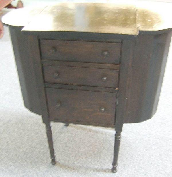 4014: Martha Washington Sewing Cabinet, 29 1/4H x 14 1/