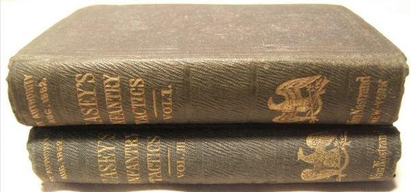 3001: Civil War Casey Tactic Books, Vol. 1 and 2, Excel