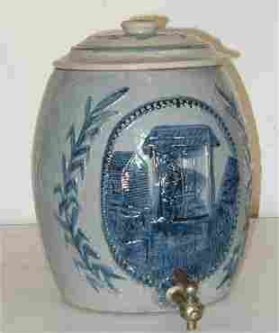 Robinson Clay Water Crock with Lid