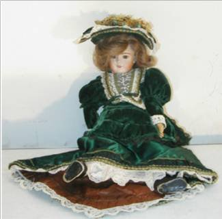 2003: Porcelain Doll Dated 1984
