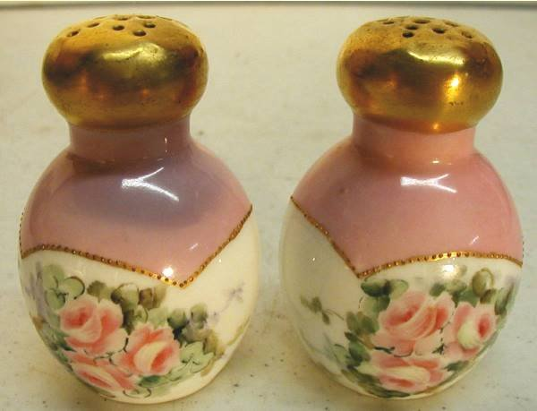 2014: Hand Painted Salt & Pepper Shakers 3 Inch. High