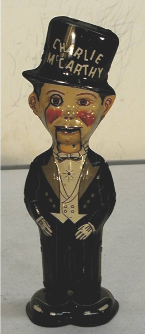 2016: Charlie McCarthy Tin wind up