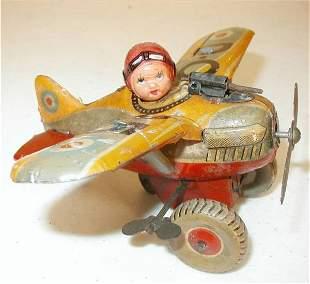 Pre War Japan Airplane Wind Up