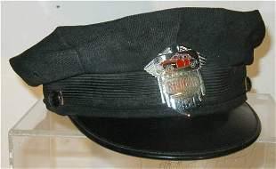 1940's- 50's Red Cab Cap