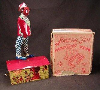 2119: Marx Jazzbo Jim with Box