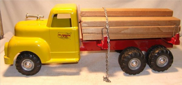 1007: All American Lumber Truck, 19 1/2 Inch Long