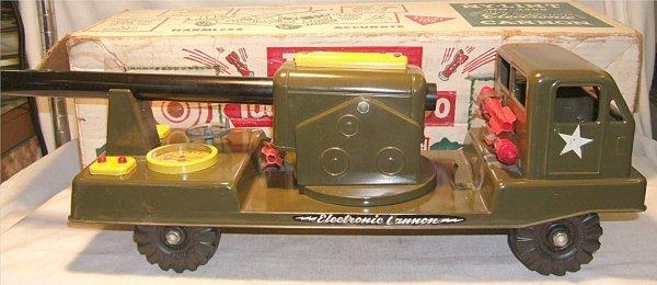 1014: Nylant #2400 Electronic Cannon Truck w/ Original