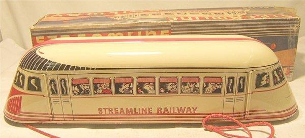 1021: Wolverine of Pittsburg, PA, Streamline Railway w/