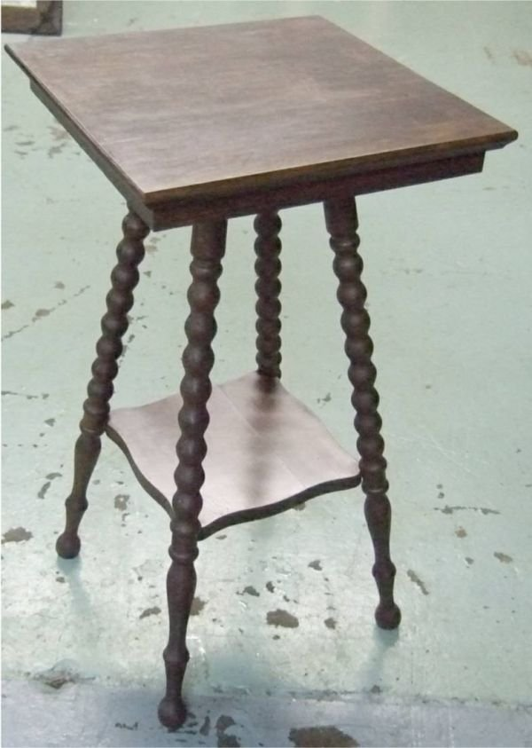 2015: Spindle Legged Lamp Table