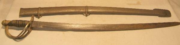 9: Cadet Civil War Sword, Marked Ames 1862,