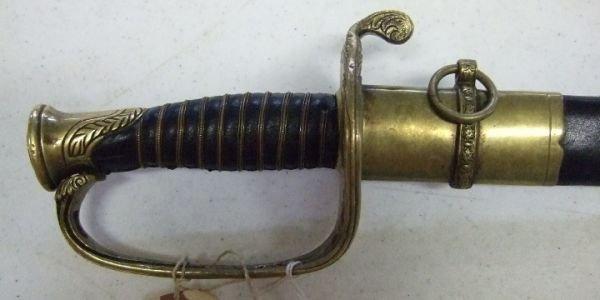 87: Model 1850 Horseman Civil War Officer's Sword