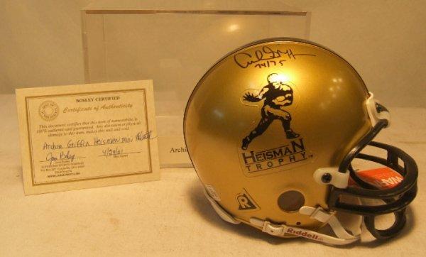 1001: Archie Griffin Heisman Trophy Authographed Mint H
