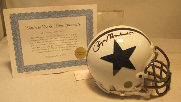 1005: Roger Staubach Autographed America's Team Dallas