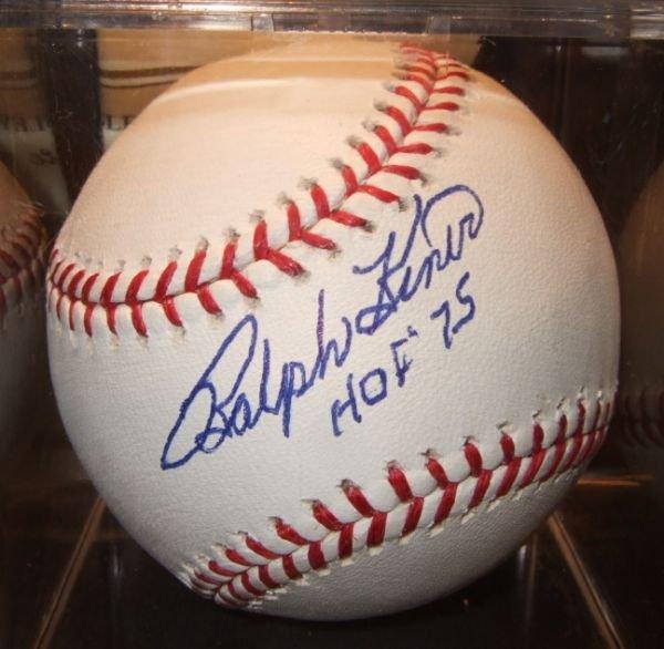 1002: Ralph Kiner HOF 75 Autographed Baseball with COA