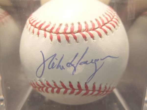 1008: Mike Hargrove Autographed Baseball with COA