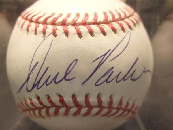 1012: Dave Parker Autographed Baseball with COA