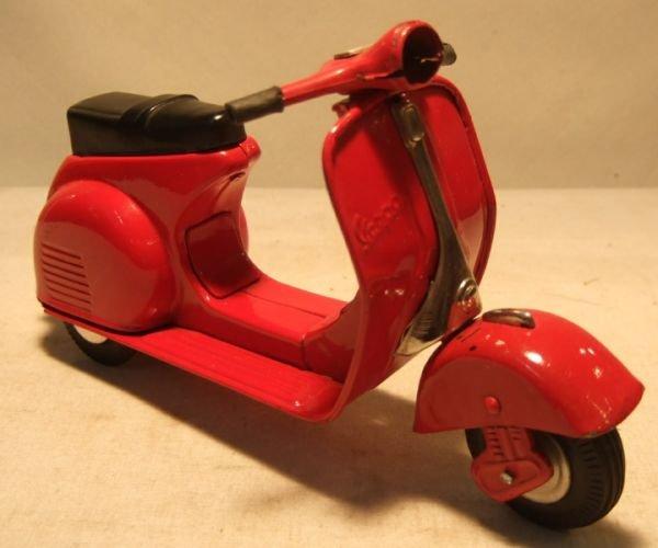 2008: Vespa G.S. Motor Scooter, Made of Tin by Bandai,