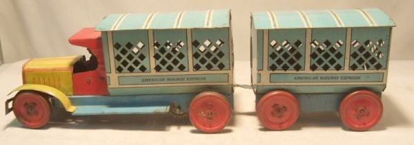 2024: Lindstrom American Railway Express Truck and Trai