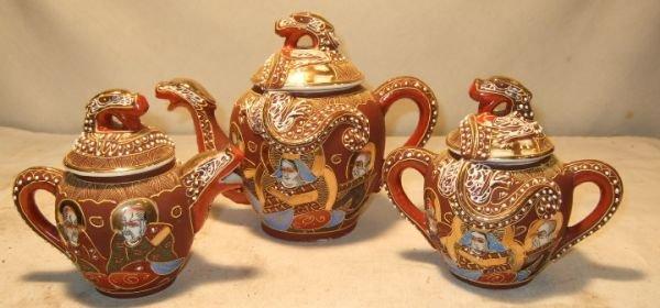 2004: Satsuma Three Piece Tea Set