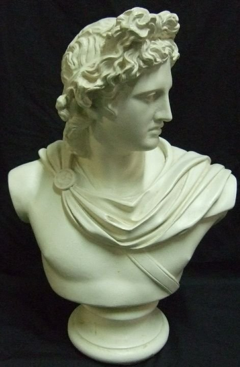 1022: Plaster Figural Statue of Alexander the Great, 16