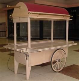 3001: Mobile Retail Display, RMU Retail Cart, Kiosk, St