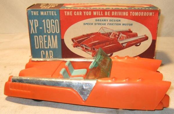 "4015: Mattel XP-1960 Dream Car 8 1/2"" Long with Box"