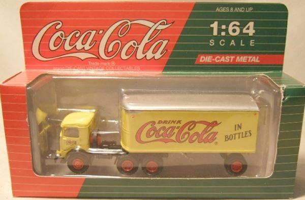 4022: Hartoy Die Cast Coca Cola Mack Truck and Trailer,