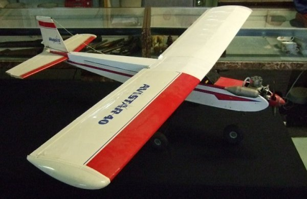 10: Avistar Gasoline Model High Wing Airplane