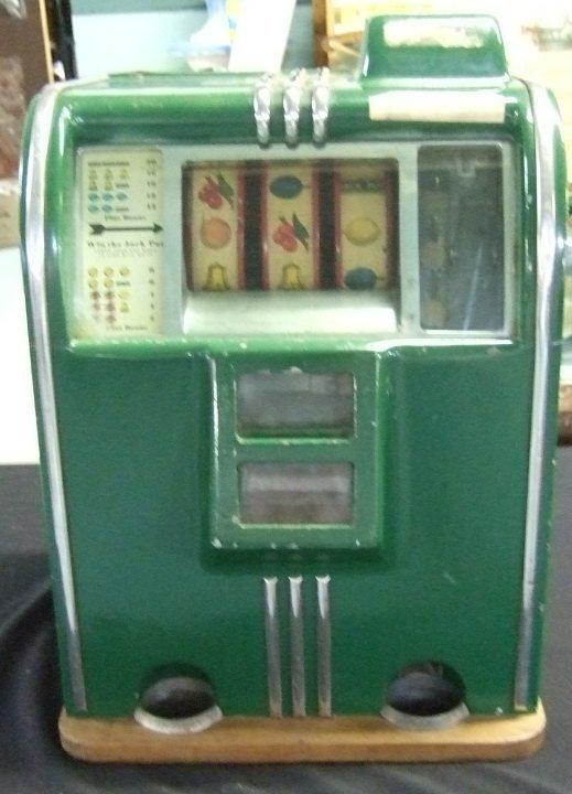 50: Vintage Kelly Double Shoot Penny Slot Machine