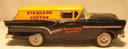 "1136: Bandai 11 3/4"" Ford ""Standard Coffee"" Delivery"