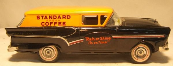 """1136: Bandai 11 3/4"""" Ford """"Standard Coffee"""" Delivery"""