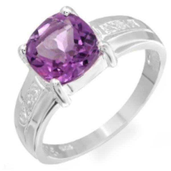 1020: Lovely Ring With 2.26ctw Precious Stones