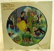 118 Disney Snow White  Seven Dwarfs Record