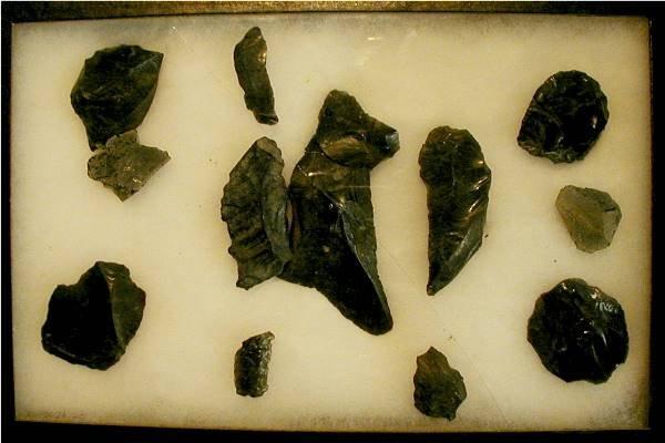 2008: 13 Obscedian Artifacts, Oregon Region