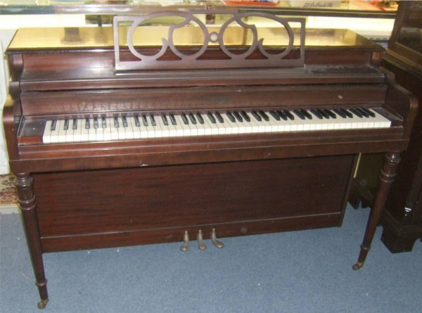 1015: Cable Nelson Vintage Piano, Works