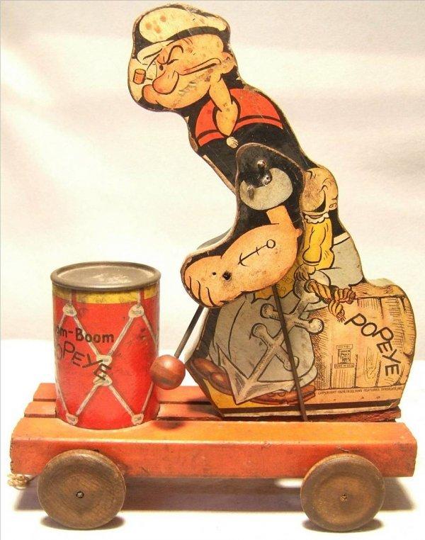 4010: Fisher Price Boom-Boom Popeye #491