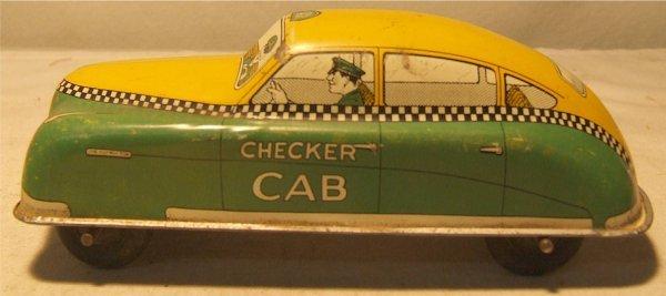 """4016: Courtland Checker Cab Car, No. 4000 7 1/4"""" Long,"""