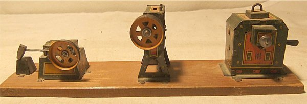 4022: JL Hess Machine Shop, Early 1900's Tin Litho