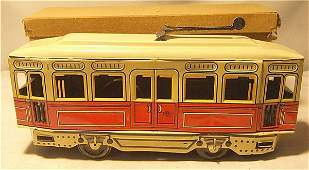 4158: Gunthermann Trolley Mint in Orignal Box, German,