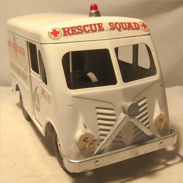 4001: Tonka Rescue Squad Fire Dept. Truck/Van, 1956-195 - 2