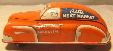 """4257: Courtland City Meat market truck, 7"""" Long, Excell"""